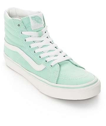 Vans Sk8-Hi Slim Gossamer Green Shoes