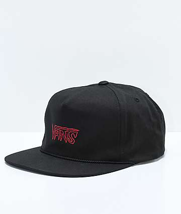 Vans Sketch Tape Black Strapback Hat