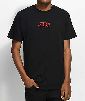 Vans Sketch Tape Black T-Shirt