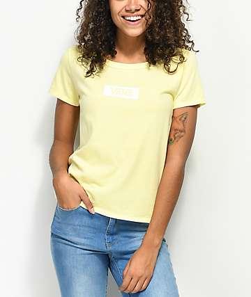 Vans Skimmer Box Drop V Yellow T-Shirt