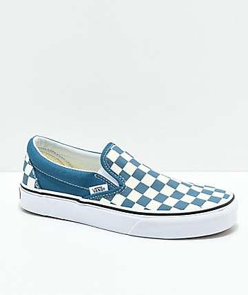 Vans Slip-On Corsair zapatos de skate a cuadros