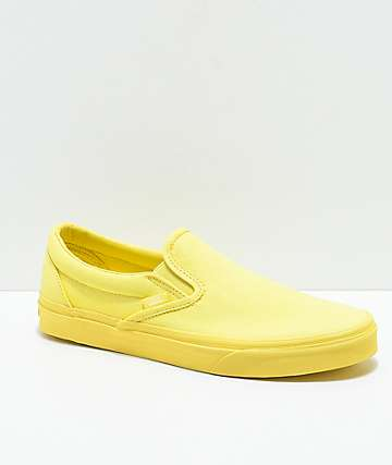 Vans Slip-On Mono Popcorn Skate Shoes