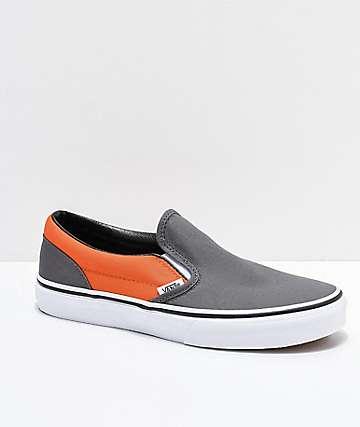 Vans Slip-On Pewter & Flame zapatos de skate