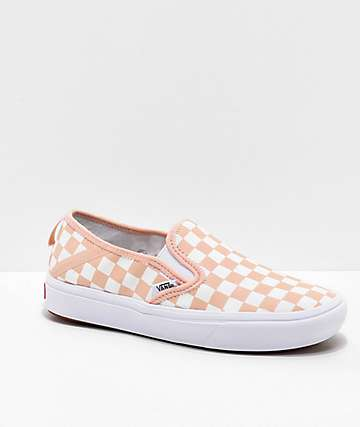 Vans Slip-On SF Comfy Cush Spanish Vanilla & White Skate Shoes