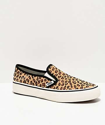Vans Slip-On SF Mini Leopard Skate Shoes
