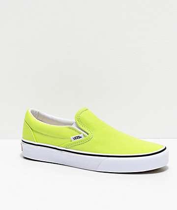 Vans Slip-On Sharp Green Skate Shoes