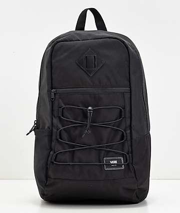 Vans Snag Black Backpack
