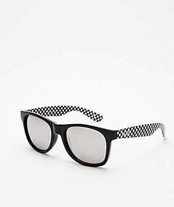 Vans Spicoli 4 Black & Checker Sunglasses