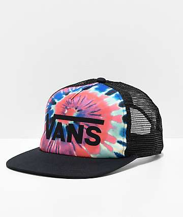 Vans Spring Break Tie Dye Snapback Hat