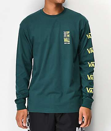 Vans Spyglass Trekking Green Long Sleeve T-Shirt