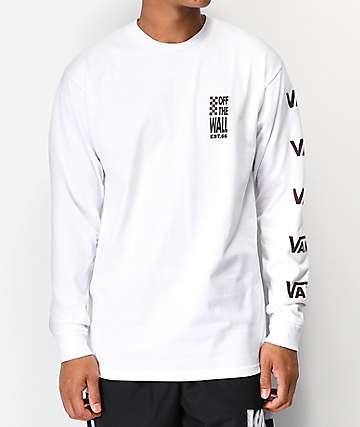 Vans Spyglass White Long Sleeve T-Shirt