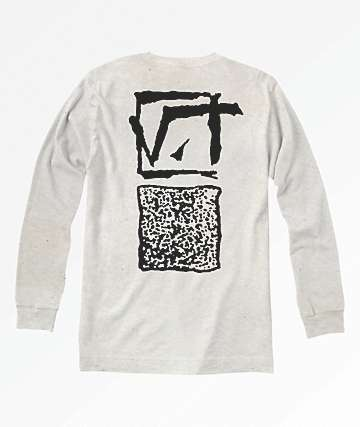 Vans Square Root White Long Sleeve T-Shirt