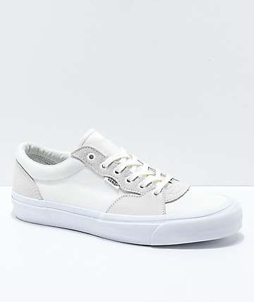 Vans Staple Style 205 White Skate Shoes