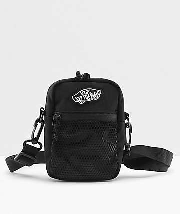 Vans Street Ready Black & White Checkered Shoulder Bag