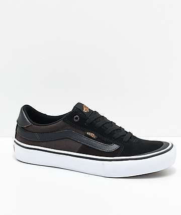 Vans Style 112 Pro Black & Mole Skate Shoes