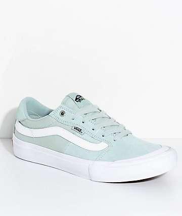 Vans Style 112 Pro zapatos de skate en verde azulado gris