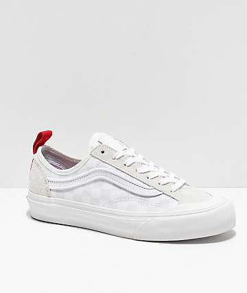 Vans Style 36 Decon SF Leila White Checkered Shoes
