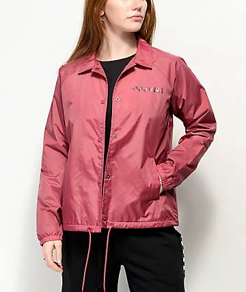 Vans Thanks Dry Rose Coaches Jacket
