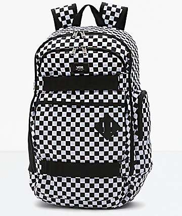 Vans Transient III Black & White Backpack
