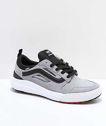 Vans UltraRange 3D Grey Alloy and White Shoes