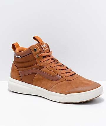 Vans UltraRange Hi MTE Glazed Ginger & White Shoes