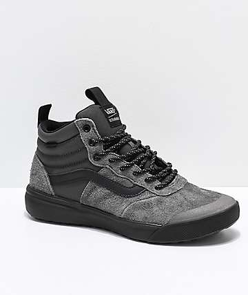 Vans UltraRange Hi MTE Peat Black Shoes
