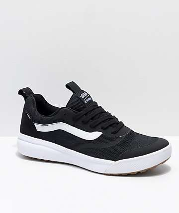 Vans UltraRange Rapidweld Black   White Shoes 4e1cc6c36