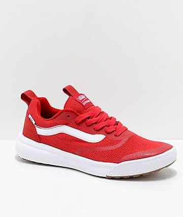 9c264ee10b Vans UltraRange Rapidweld Chili Pepper zapatos en rojo y blanco