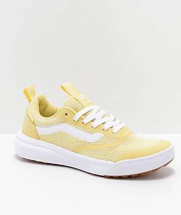 b175341662 Vans UltraRange Rapidweld zapatos amarillos