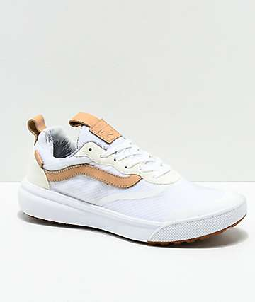 Vans UltraRange White & Amber Light Shoes