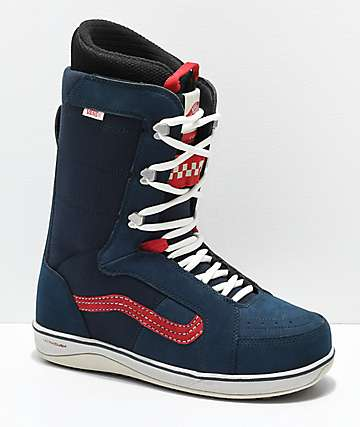 Vans V-66 Blue Snowboard Boots