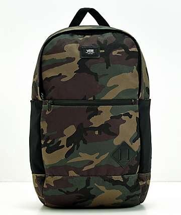 Vans Van Doren III Camo Backpack