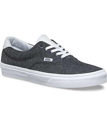 Vans Varsity Era 59 Charcoal & White Shoes