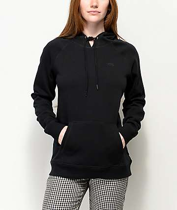 Vans Versa Black Tech Fleece Hoodie