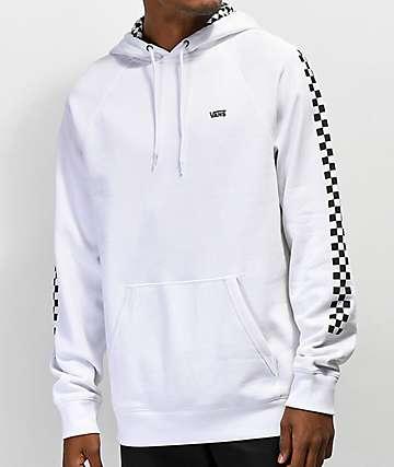 Vans Versa White & Checkerboard Hoodie