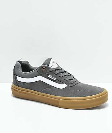 Vans Walker Pro Pewter & Gum Skate Shoes