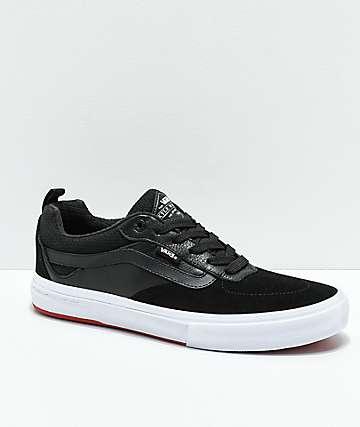 Vans Walker Pro zapatos de skate en negro y rojo