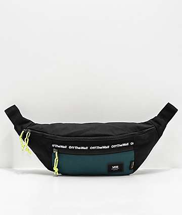 Vans Ward Trekking Green & Black Crossbody Bag