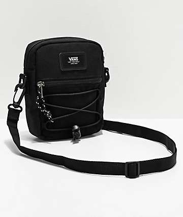 Vans Warp Black Shoulder Bag