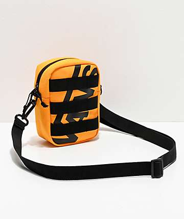 Vans Webbed Checkerboard Black & Yellow Shoulder Bag