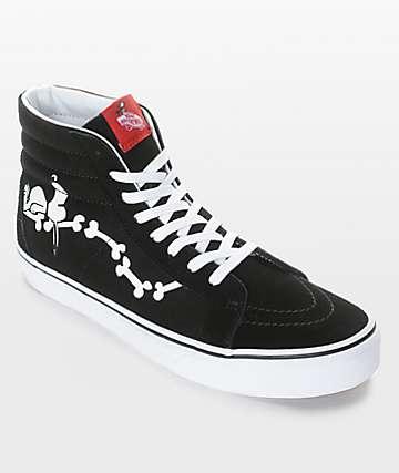 Vans X Peanuts SK8-Hi Snoopy Bones zapatos de skate