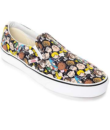 Vans X Peanuts Slip On The Gang Shoe