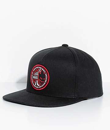 Vans X Spitfire gorra negra de béisbol