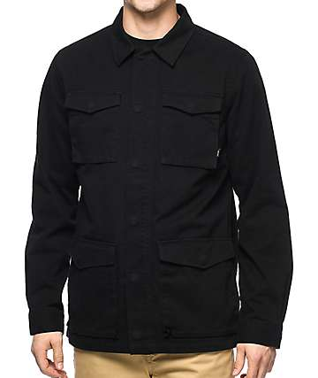 Vans X Thrasher M65 Black Jacket
