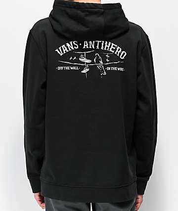 Vans x Anti-Hero On The Wire Black Hoodie