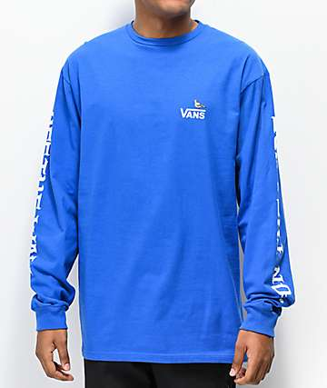 Vans x Anti-Hero On The Wire Blue Long Sleeve T-Shirt