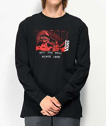 Vans x Baker Black Long Sleeve T-Shirt