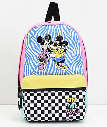 Vans x Disney Hyper Minnie Calico Backpack