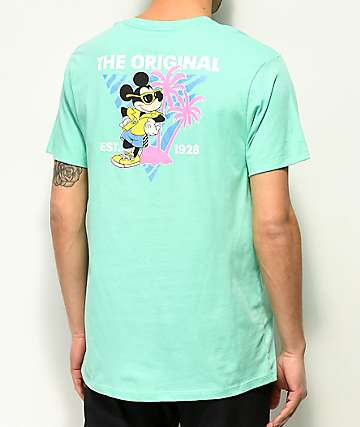 Vans x Disney Mickey 90th Teal T-Shirt
