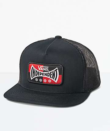 Vans x Independent Black Trucker Hat
